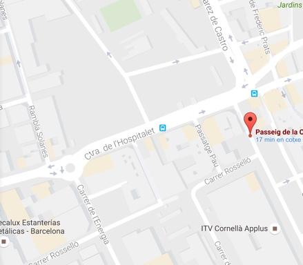 Localización y contacto Ecoceram