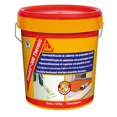 Ecoceram Impermeabilización Sikafill 300 Thermic