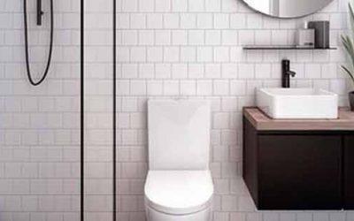 ¿Dispones de poco espacio en el baño? ¡Descubre como organizar un baño pequeño!